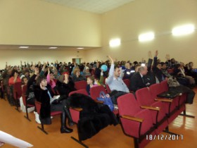 18 декабря 2017 года в СКДЦ Аркауловского СДК    состоялось итоговое собрание жителей